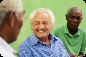 elders talking